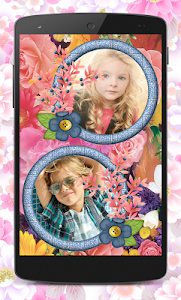 Flower Couple Collage Frames screenshot 5