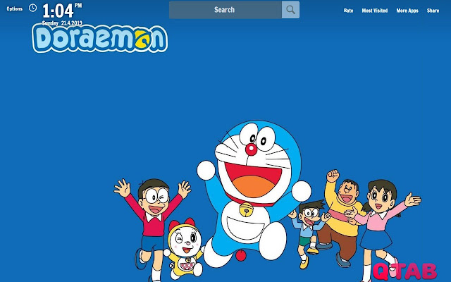 Doraemon Wallpapers Doraemon New Tab