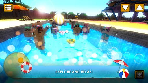 Water Park Craft GO: Waterslide Building Adventure 1.14-minApi23 screenshots 1