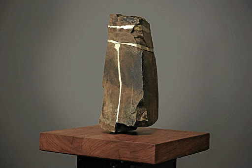 Wonder of nature: A singing rock from the Great Karoo in Jenna Burchell's Songsmith collection. Picture: JENNA BURCHELL