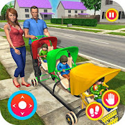 Virtual Housewife New Mother Baby Triplets Mania