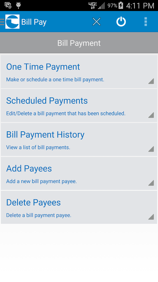 myBOP Mobile Banking- screenshot