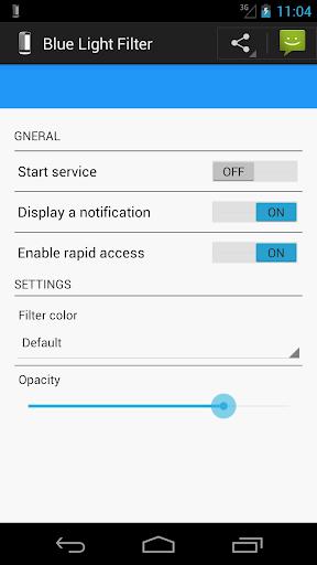 screen blue light filter
