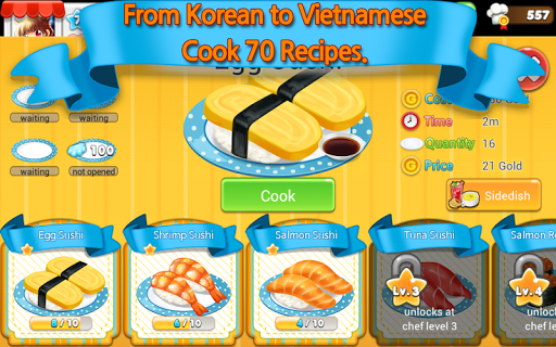 Hello Seafood 2 for Kakao apkpoly screenshots 1