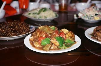 Photo: 03414 二連/市街/レストラン料理