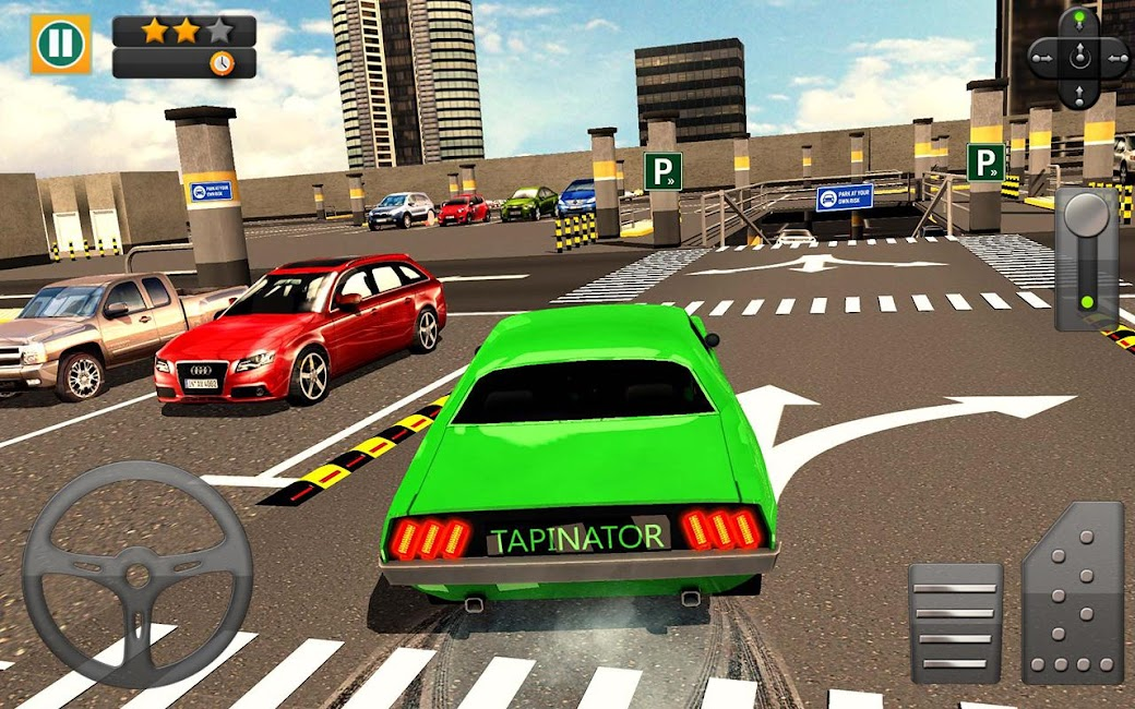 #9. Multi-storey Car Parking 3D (Android)