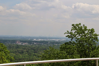 Photo: View from the parking lot near the top.