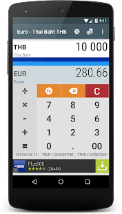 Euro to Thailand Baht EUR THB - Apps on Google Play