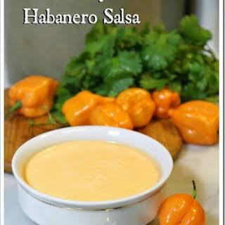 Creamy Habanero Salsa.