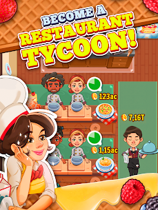 Spoon Tycoon Mod Apk- Idle Cooking Manager (Unlimited Money) 7