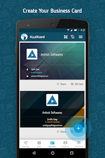 Kwikard business card maker apps on google play screenshot image colourmoves