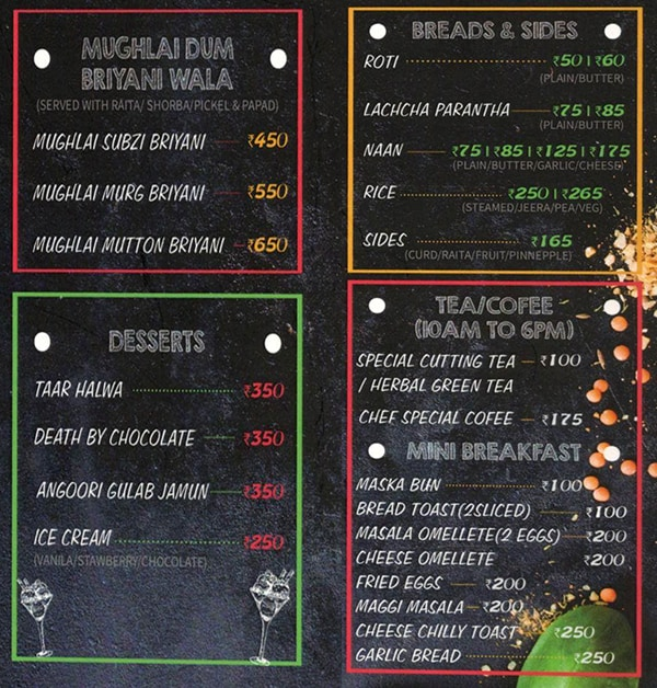 The Godfather Lounge And Bistro menu 7