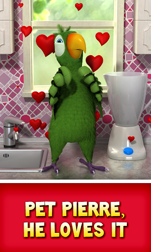 Talking Pierre the Parrot Free screenshot 5