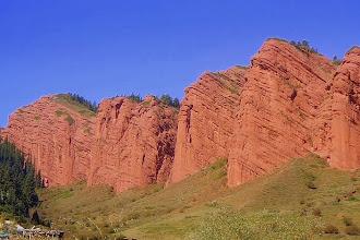 Photo: Kirgiz- Dżeti Oguz