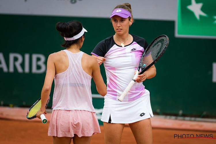 Elise Mertens door op US Open, volgende tegenstander is Minnen en Van Uytvanck