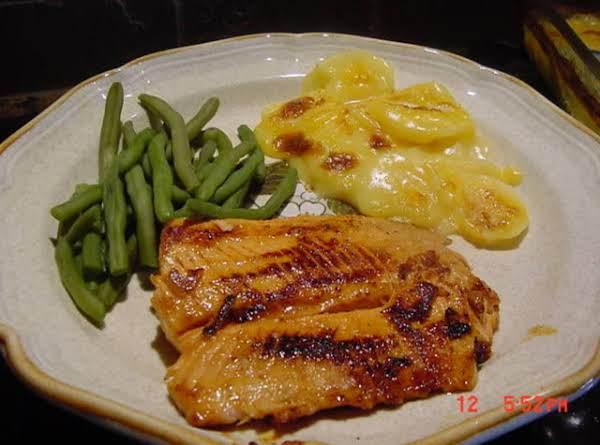 Bonnie's Stovetop Glazed Salmon