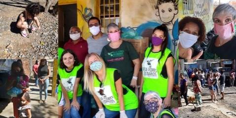 Ação do Bem COMJOVEM contempla Projeto Beija-flores Solidários