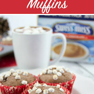 Hot Chocolate Muffins.