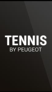 Tennis by Peugeot screenshot 0