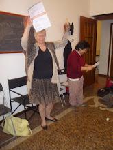 Photo: Si consegna alla Conduttrice Elisabetta Conte !