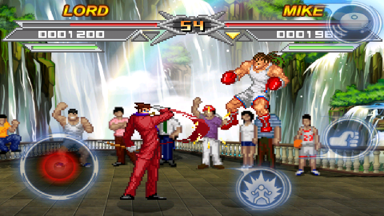Screenshots of Kung Fu Do Fighting for iPhone