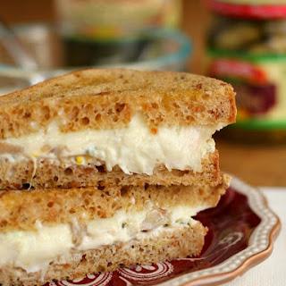 Jalapeño Artichoke Dip Grilled Cheese Sandwich.