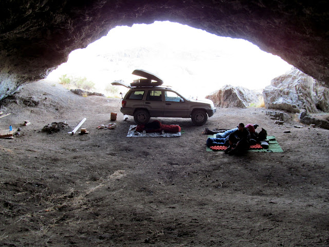 Morning in the cave