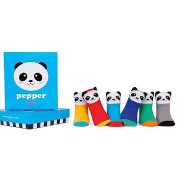 今日已經返咗貨! 美國Trumpette 得意熊貓嬰兒祙一盒共六對,有防滑底適合0-12個月BB,每盒$360 #hkbb #hkonlineshop #hkig #hkigshop