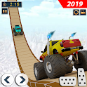 Impossible Monster Truck Stunts: Car Stunt Games icon
