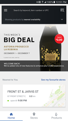 LCBO Mobile App - screenshot