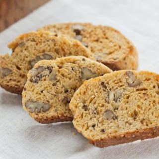 Cheddar Pecan Cocktail Biscotti