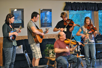Photo: Rolland family performance after dinner