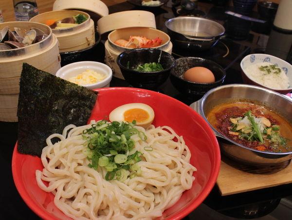 富士山55沾麵-沾麵元祖台灣2號店,濃郁湯頭沾麵鮮甜好味道
