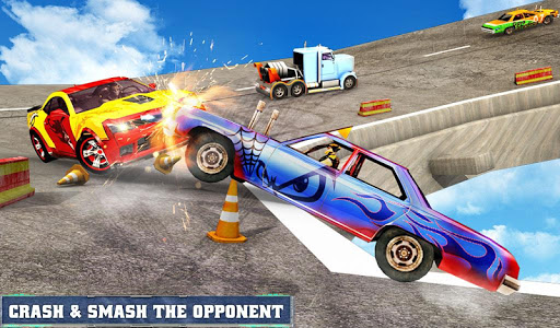 Car Fall Derby - Super Hero Clash 3D for PC