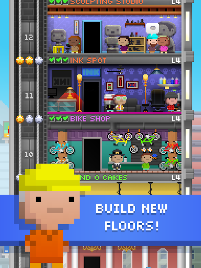 Tiny Tower- screenshot
