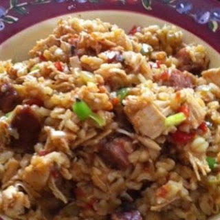 Shut the FFFront Door - Sausage Chicken Jambalaya