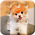 Puppy Dog Pin Lock Screen APK
