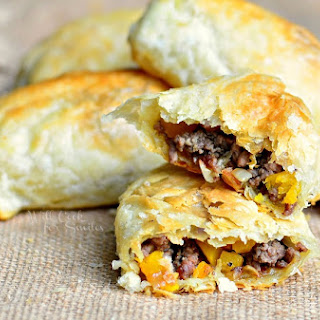 Pumpkin, Beef & Onion Hand Pies