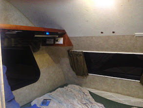 Photo: Headbanger Mod: Nearly done. Shelf and electrical installed
