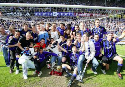 Voici les joueurs qui ont remporté le dernier titre avec le Club de Bruges