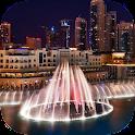 Dubai Fountain Live Wallpaper icon