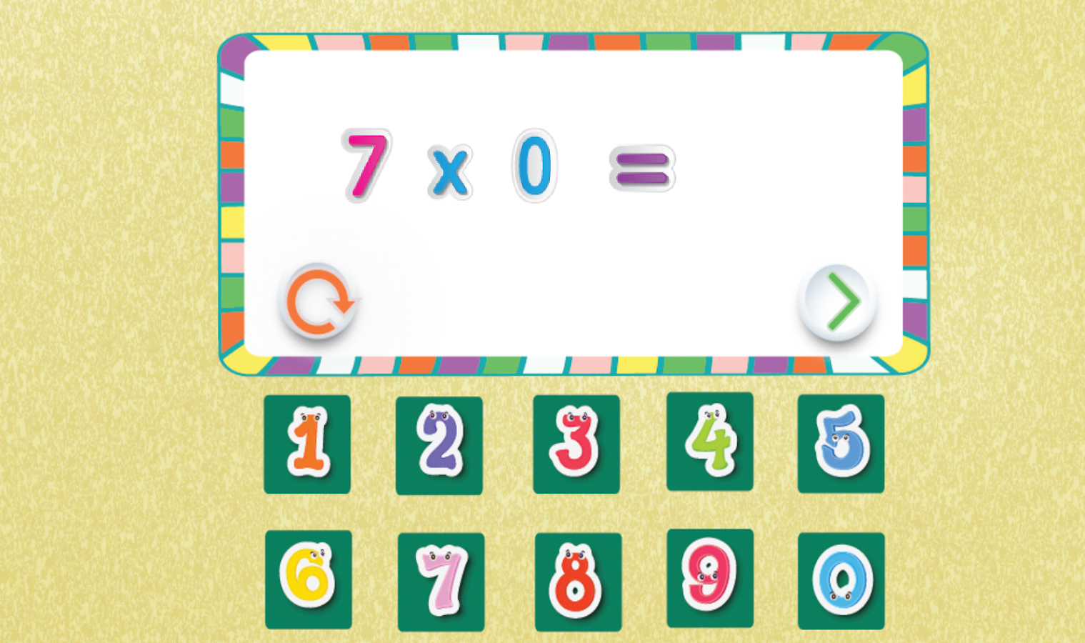 Kids multiplication tables android apps on google play kids multiplication tables screenshot gamestrikefo Image collections