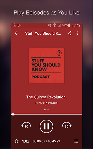 Podcast Player screenshot