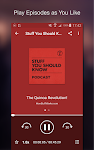 screenshot of Podcast Player