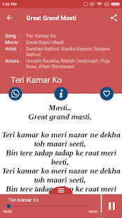 Hit Great Grand Masti Songs Lyrics and dialogues - náhled