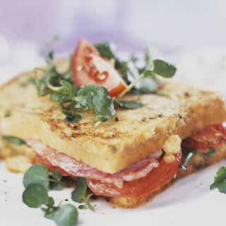 Ham Salad French Toast Sandwich.