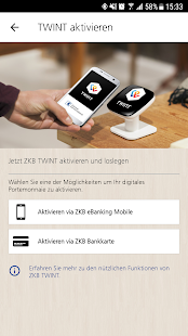 ZKB TWINT- screenshot thumbnail