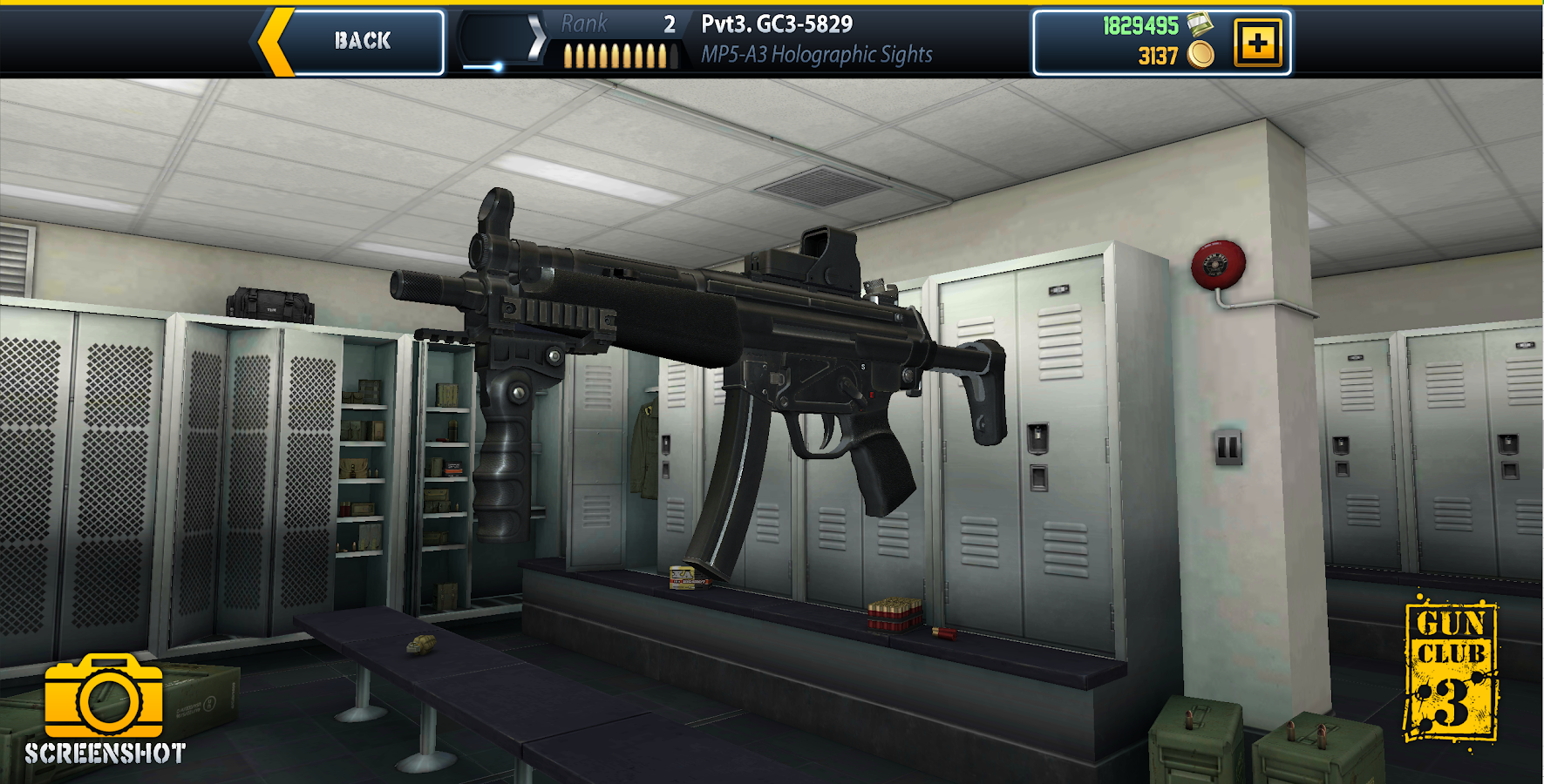 Gun Club 3: Virtual Weapon Sim: captura de tela