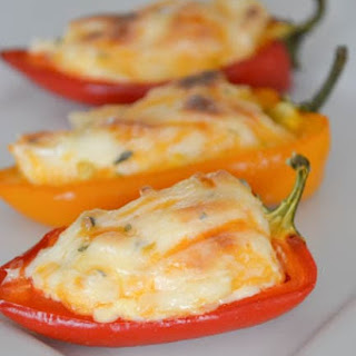 Fiesta Stuffed Mini Peppers.
