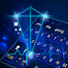 Hologram Keyboard Theme icon